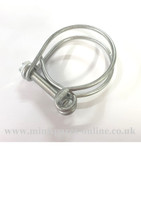 Wired hose clip (1.1/4-1.7/16) for classic Mini CS4023