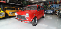 Late classic Mini 1995 1275 SPI in red