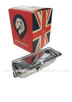 Chrome soild lid ashtray for classic Mini