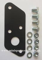 Bulk head blanking plate with fixings for classic Mini