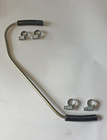 Petrol/fuel pipe and clips from pump to carb for classic Mini