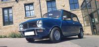 1975 Classic Mini Leyland Clubman 1275 GT teal blue