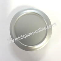 55mm Silver Centre Cap (Rover Type) for Classic Mini