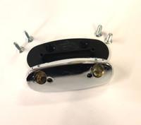 Tex Chrome Adaptor/Plinth for Classic Mini
