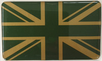 Union jack self adhesive sticker