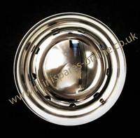 3.5x10 Silver Steel Cooper S Replica Wheel & Tyre Package including Hub Cap
