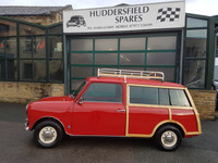 Classic Mini Countryman In Flame Red