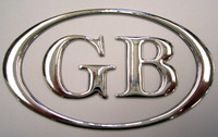 GB Chrome Sticker