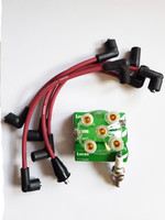 Lucas 8mm Silicone HT Ignition Lead kit GHT241 for classic Mini