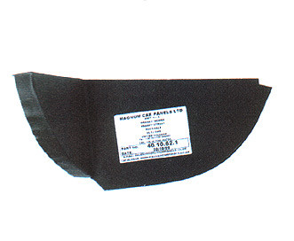 rear valance mounting panel