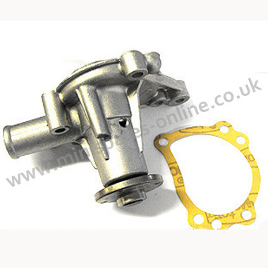Water pump with bypass and gasket