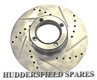 "8.4"" drilled and grooved discs pair"