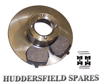 "8.4"" brake pads and fitting kit"