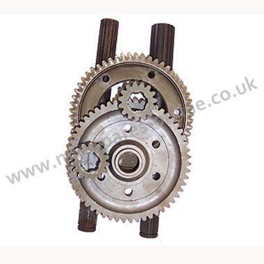 Crown wheel and pinion