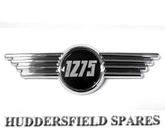 1275 bonnet badge
