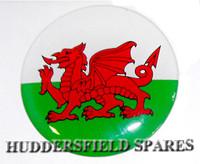 Welsh Flag Oversticker 42mm