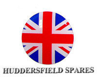 Union jack 27mm oversticker