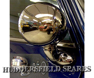 Stainless steel evolution bullet mirrors