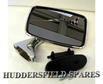 Stainless tex standard mirror