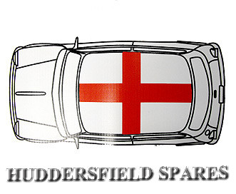 st georges cross roof decal