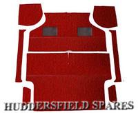 Red 8 piece dx carpet