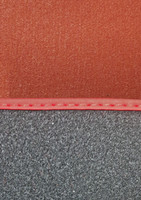 Red 12 Piece Carpet for Classic Mini