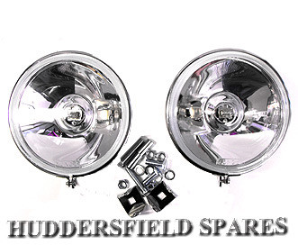 Stainless steel spots pair