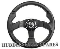 "13"" race type steering wheel"