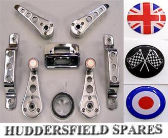 10piece interior handles with logos