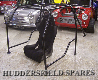 6 point roll cage with doorbars