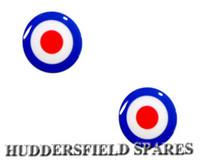 Target 19mm overstickers