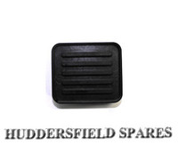 Brake and clutch pedal pad early