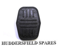 Brake and clutch pedal pad rubber