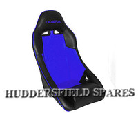 Cobra clubman blue and black signature seat