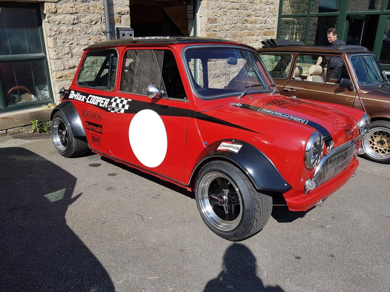Red Bike Engine Classic Mini Huddersfield Spares Limited