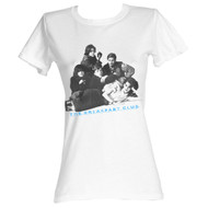 Breakfast Club 1985 Comedy Drama Movie Brat Pack Group Shot White Ladies T-Shirt