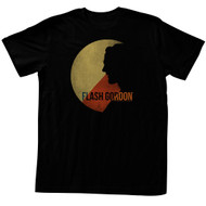 Flash Gordon 1930's Comic Strip Vintage Style Moonlight of Firgia Adult T-Shirt
