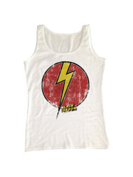 Flash Gordon 1930's Comic Strip Vintage Style Logo Adult Tank Top Tee