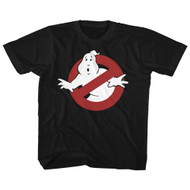 The Real Ghostbusters Animated TV Series Logo Youth Big Boys T-Shirt Tee
