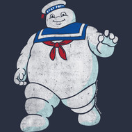 The Real Ghostbusters Animated TV Series Mr Stay Puft Youth Big Boys T-Shirt Tee