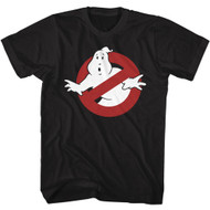 The Real Ghostbusters Animated TV Series Logo Symbol Adult T-Shirt Tee