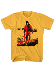 Baywatch 90's Drama Beach Patrol Lifeguard David Red Dawn Adult T-Shirt Tee