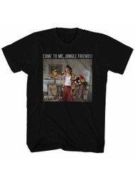 Ace Ventura Pet Detective Comedy Movie Jim Carrey Jungle Friend Adult TShirt Tee