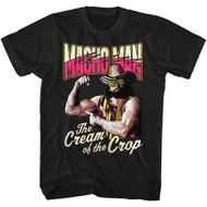 Macho Man Cream Of The Crop Black Adult T-Shirt Tee