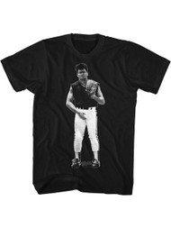 Major League 1989 Sports Comedy Movie Wild Thing Junk Black Adult T-Shirt Tee
