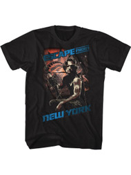 Escape From New York Snake Black Adult T-Shirt Tee