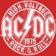 ACDC Heavy Metal Rock Band High Voltage Rock & Roll Vintage Toddler T-Shirt Tee