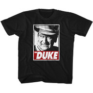 John Wayne American Legend Hollywood Icon Actor The Duke Toddler T-Shirt Tee