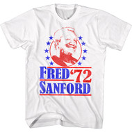 Redd Foxx 1970s Fred Comedy Sanford and Son Sitcom Adult T-Shirt Tee
