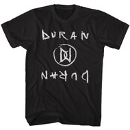 Duran Duran 1978 English New Wave Synthpop Band DD Mirror Adult T-Shirt Tee